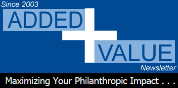 Added Value: Maximizing Your Philanthropic Impact