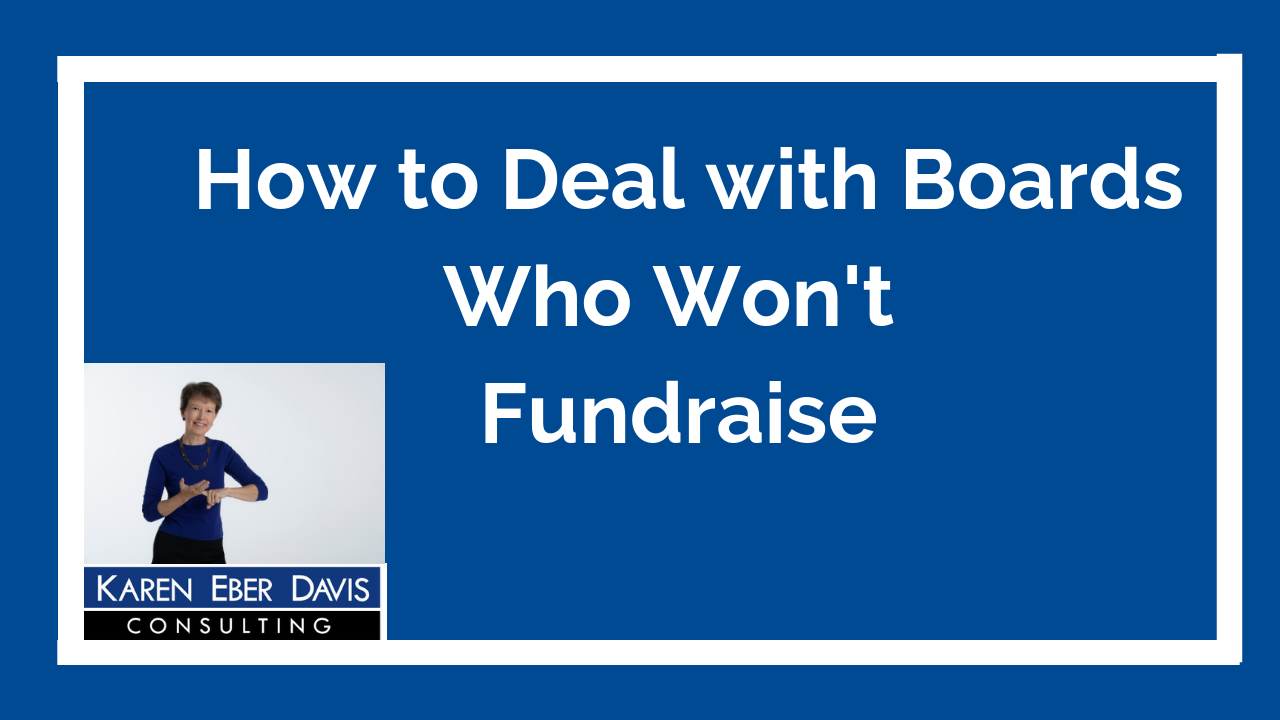 How to Deal with Board Who Won't Fundraise