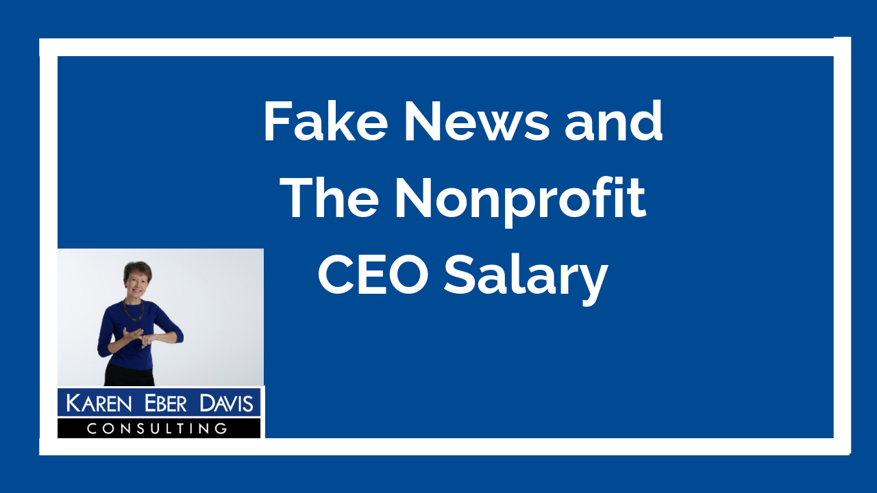 Fake News and High CEO Salaries