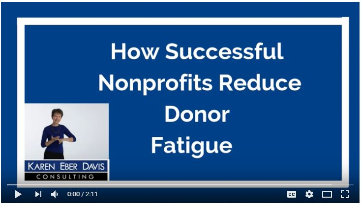 How Successful Nonprofits Avoid Donor Burnout