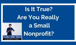 Is It True? Are You Really a Small Nonprofit?