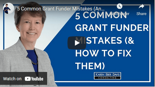 5 Common Grant Funder Mistakes