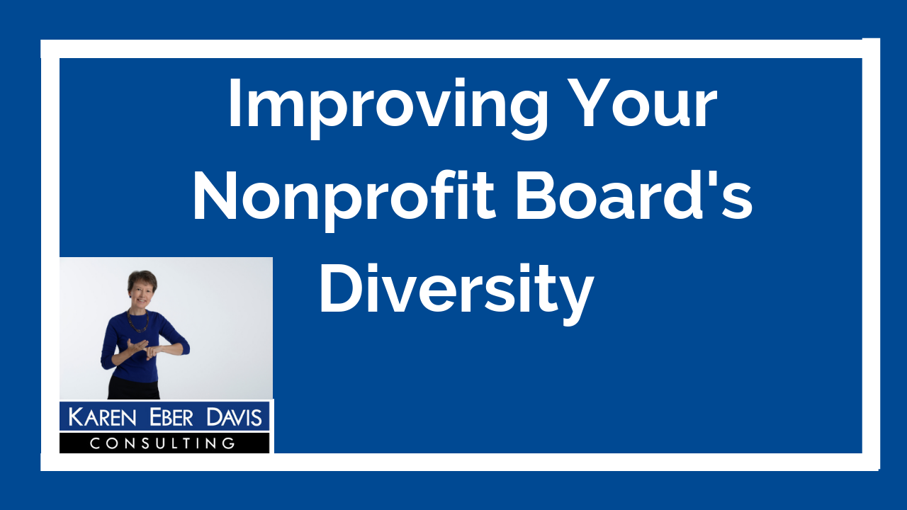 Improving Your Nonprofit Board's Diversity