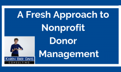 Best Practice Nonprofit Donor Management