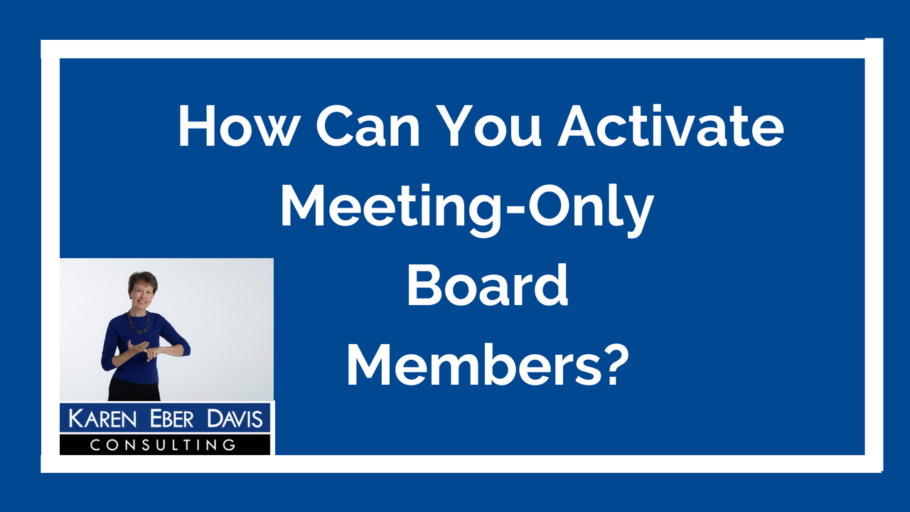 How Can You Activate Meeting-Only Board Members?