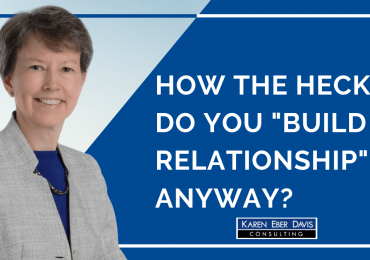 Build a Relationship: How to Unlock the Authentic Power of the Nonprofit Sector's Favorite Cliché