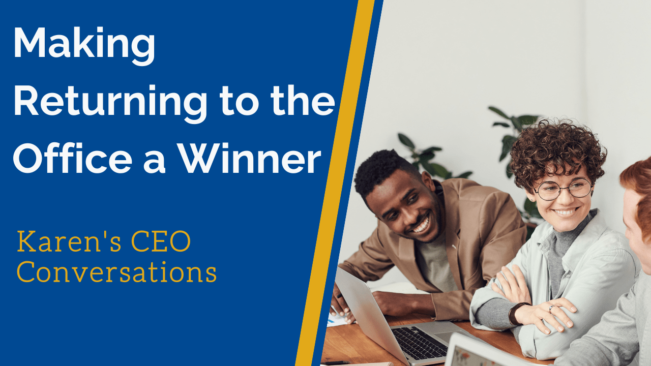 Make Returning to the Office a Staff Winner