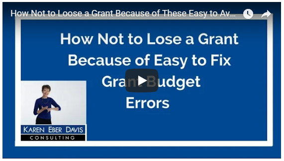 How Not to Lose a Grant Because of These Easy to Avoid Grant Budget Errors