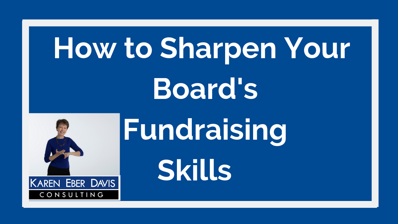 How to Sharpen Your Nonprofit Board's Fundraising Skills