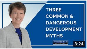 Three Common and Dangerous Nonprofit Development Myths