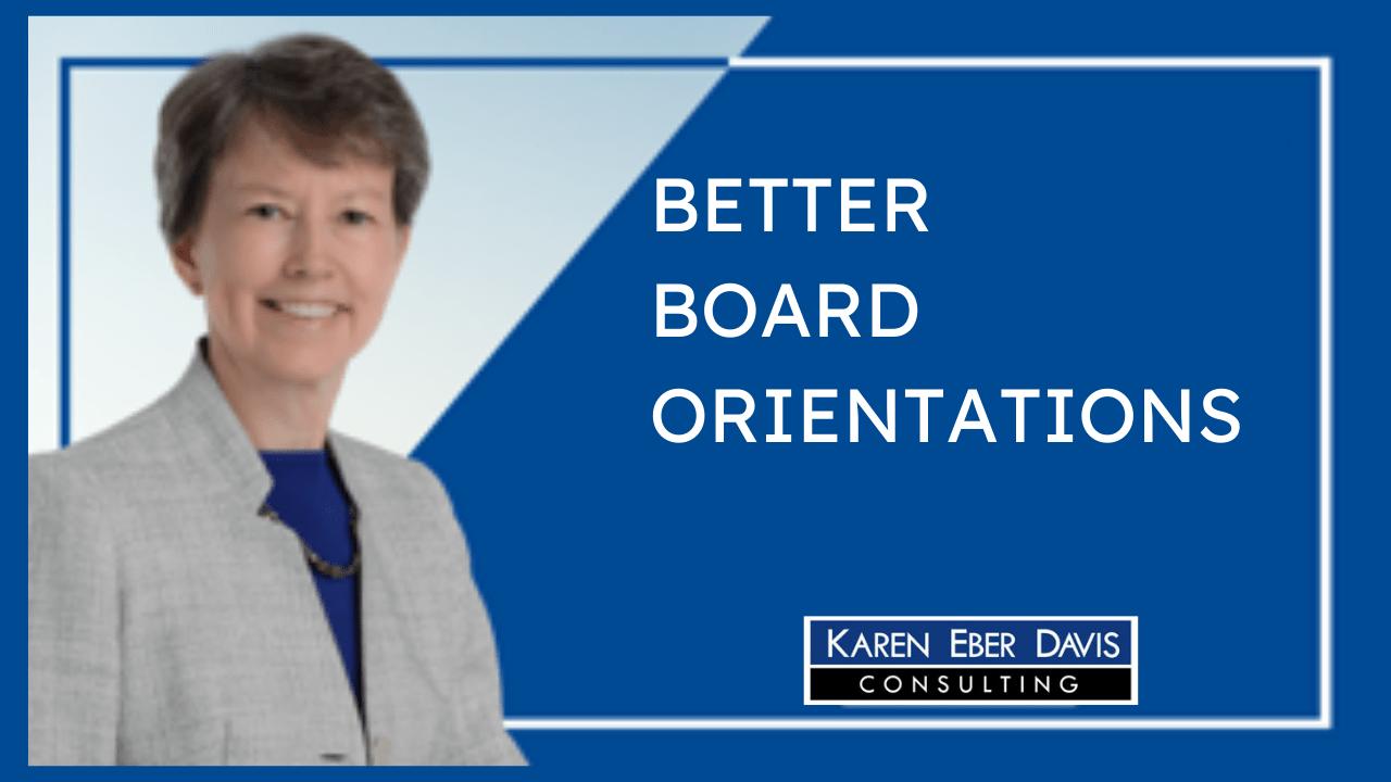 Better Board Orientations