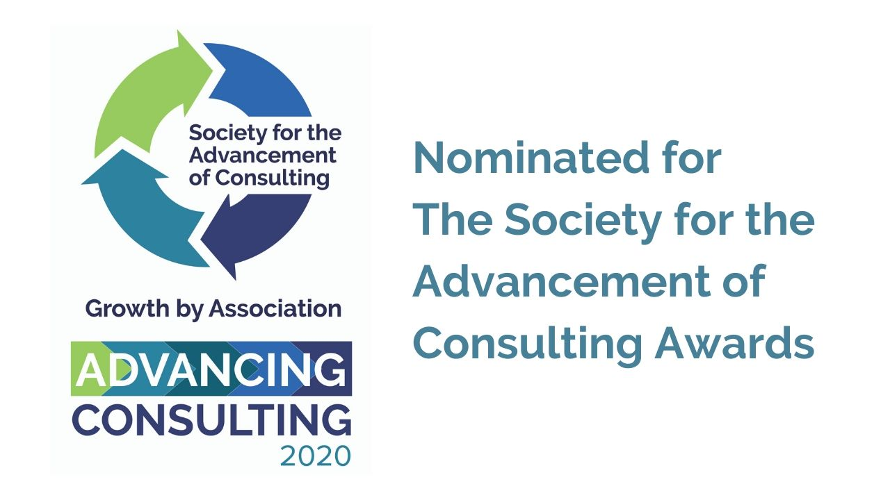 Karen Eber Davis Nominated for The Society for the Advancement of Consulting Awards