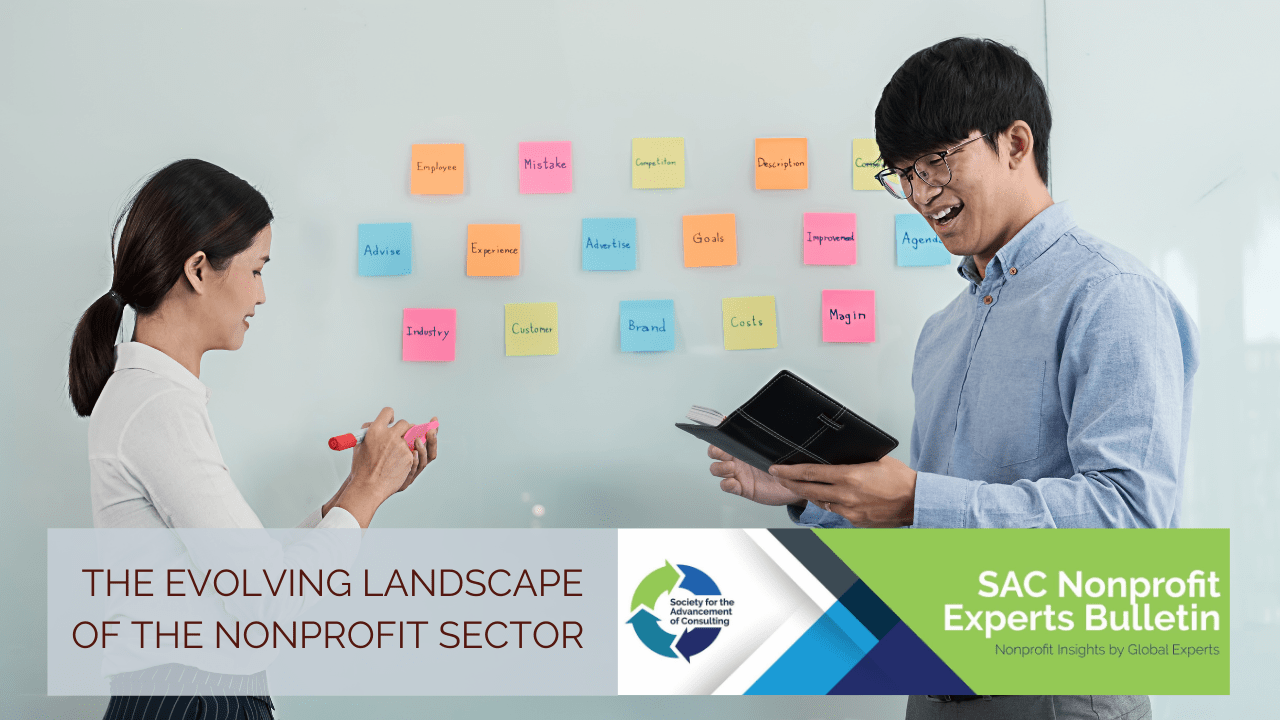 The Evolving Landscape of the Nonprofit Sector