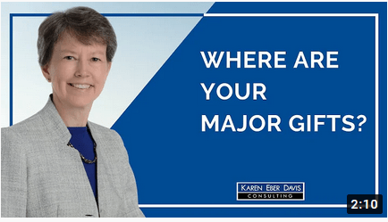 Where Are Your Nonprofit's Major Gifts?
