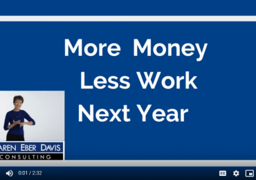 More Money, Less Work, Next Year at Your Nonprofit