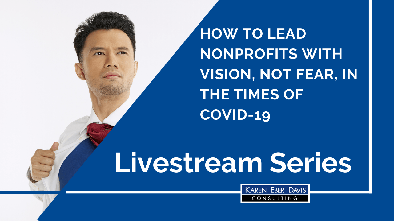 Livestream: How to Lead Your Nonprofit With Vision