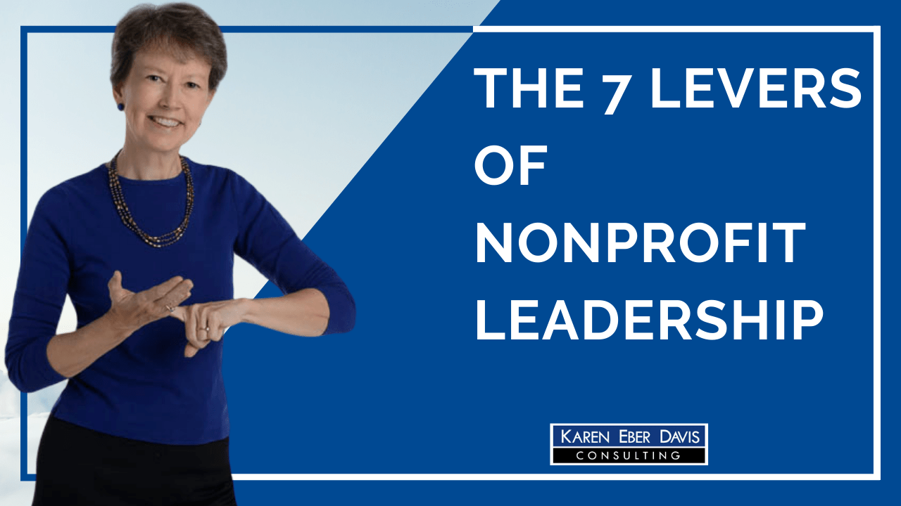 The 7 Levers of Nonprofit Leadership