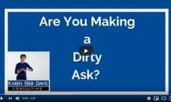 Nonprofit Fundraising: Are You Making Dirty Asks?