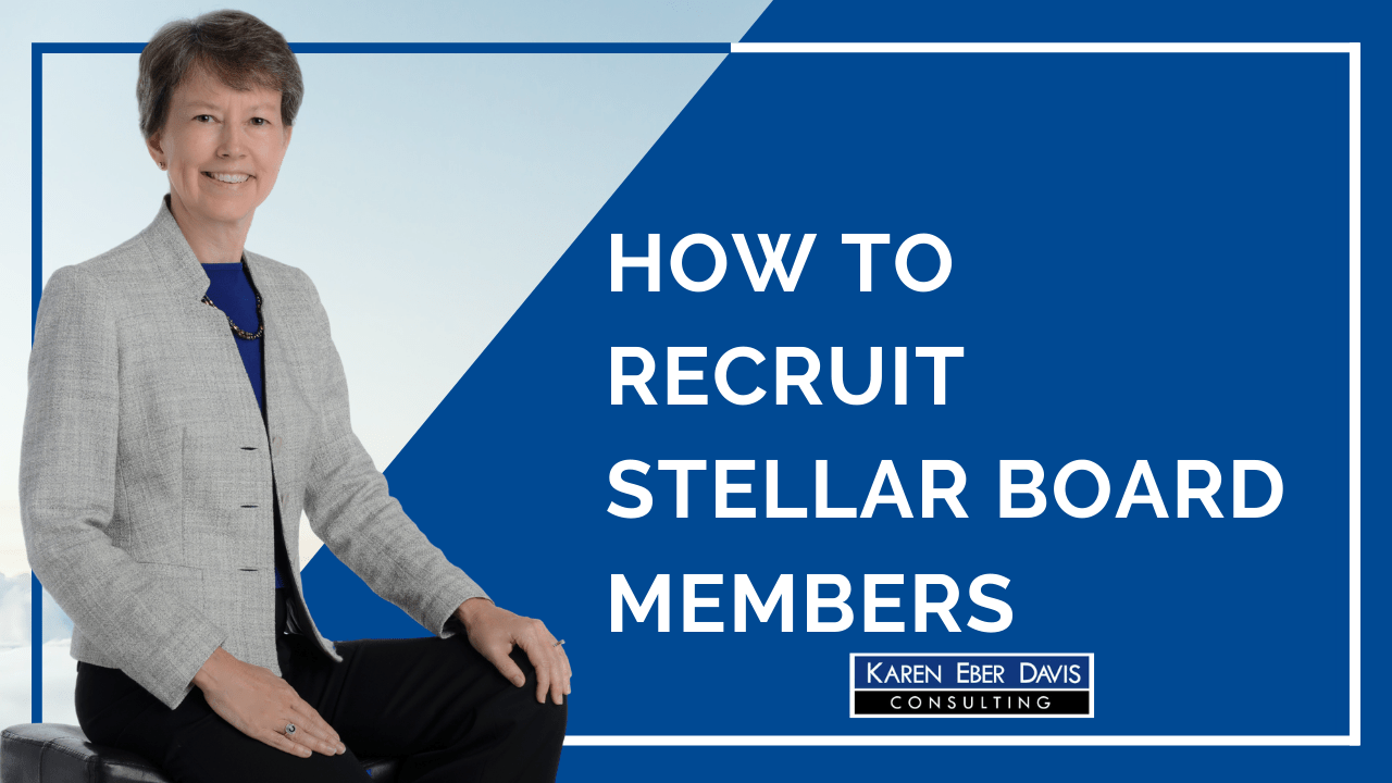 How to Recruit Stellar Nonprofit Board Members