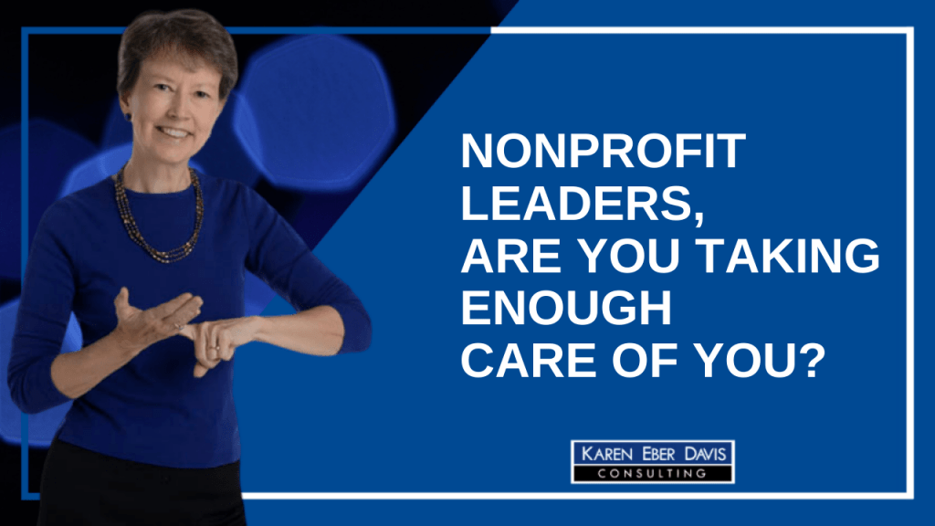 Are you taking enough care of you?