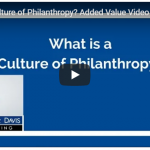 What is a Culture of Philanthropy Added Value Video