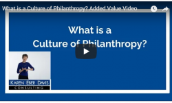 What is a Culture of Philanthropy?: Added Value Video