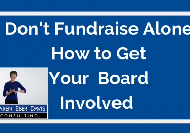 Don't Fundraise Alone: How to Get Your Nonprofit Board Involved