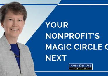 Maximizing Your Nonprofit's Revenue. Your Nonprofit's Magic Circle of Next