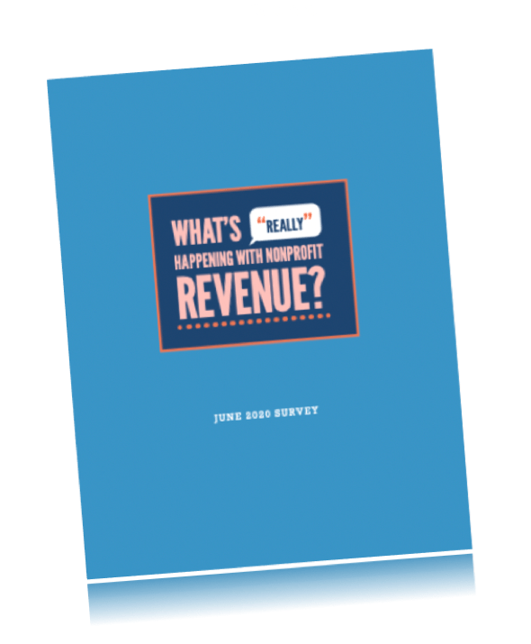 What's Really Happening with Nonprofit Revenue report on angle